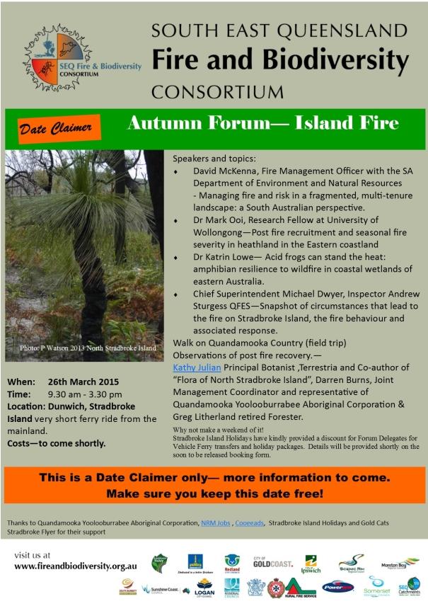 Autumn Forum - Island Fire