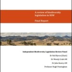 A review of biodiversity legislation in NSW: Final Report