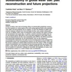 Sustainability of global water use: past reconstruction and future projections